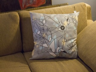 Biomech Universe Pillow
