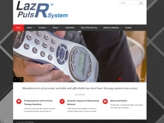 Lazr Pulsr Website