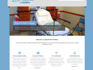 AquaChill of Golden Website